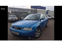 1998 S REG AUDI A3 1.8 TURBO CHEAP BARGAIN CAR READY TO GO TODAY SUPERB DRIVE HAS MOT ! QUICK CAR