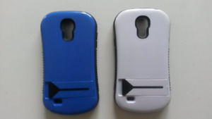 2 Hard Cases For Samsung Galaxy S4 Mini Cell Phone