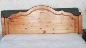 Solid Pine Headboard