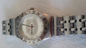 Stainless Steel Montreal Canadiens Watch