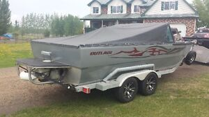 2012 OUTLAW EXPEDITION LS3 JET BOAT
