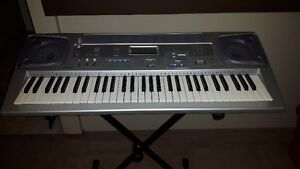 Casio CTK-591 Electronic Keyboard with Stand and Adapter!