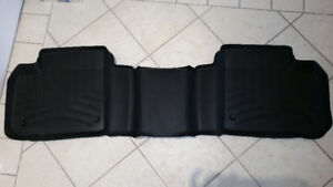All weather 3D back seat floor mats