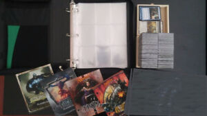 Lot of magic cards and supplies