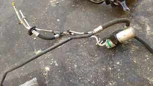 Audi AC Compressor, condenser and hoses.