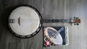 Tenor banjo and music instruction book lessons