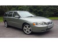 Volvo V70 2.4 Geatronic 2006MY D5 SE New Mot Cheap Estate Car