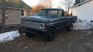 1969 Ford F-250 Custom Pickup Truck (PRICE DROP)