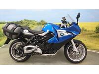 BMW F800ST 2012**605 MILES, BMW PANNIERS, ABS, BREMBO BRAKES**