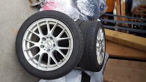 BMW Mag et pneus