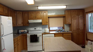 2 bedrooms and a den walkout basement suite in a signal hill dr