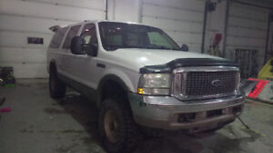 2002 7.3 Ford Excursion SUV, Crossover