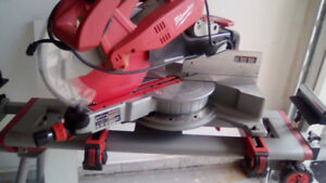 Used Milwaukee Miter Saw With Stand For Sale