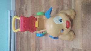Fisher Price Stride to Ride Puppy