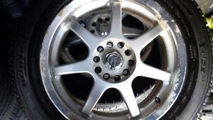 235/55R17 Michelin X-Ice Xi2 Snow Tires on Alloy Rims Peterborough Peterborough Area image 5