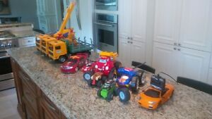 Toy Trucks and Cars (Some RC)