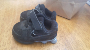 Never worn size 2 baby Nike sneakers