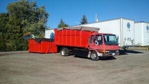 1999 Hino FD Hooklift-3-bins and 1-flatbed