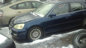 Acura El 2002 parting out