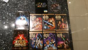 'Pending'Star wars complete saga on dvd incl forceawakens/rogue