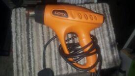 As new heat gun power tool paint wallpaper stripper