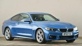 image for 2018 BMW 4 Series 420d [190] M Sport 2dr Auto [Professional Media] Coupe diesel