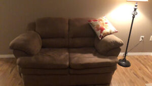Love seat and chair - Excellent condition