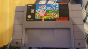 Kirby's Avalanche SNES