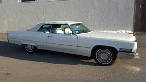 For Sale: 1969 Cadillac DeVille Convertible