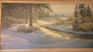 Harland Young oil painting signed