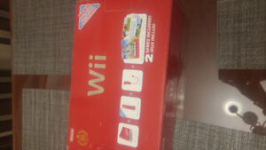 Nintendo Wii RED 25th Anniversary Edition