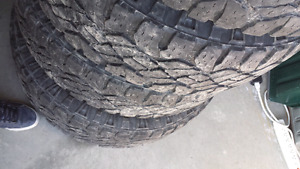 Good year wrangler duratrac 275/65r20