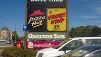 Quiznos franchise location for sale in Guelph