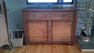 Commode antique   meuble  tv