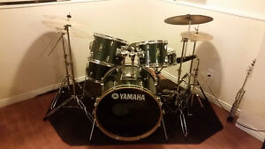 Full Yamaha Drum Set With Everything You Could Possibly Need!