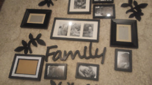 Family Tree Wall Decoration- Picture Frames