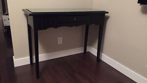 Accent Table With Removable Glass Surface
