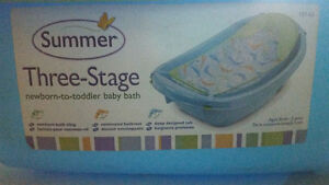 3 stage infant boys bath tub- excellent condition Kitchener / Waterloo Kitchener Area image 2