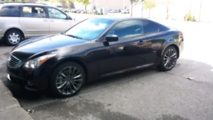 Infiniti G37XS coupe - awd sport package