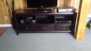 Entertainment stand Mocha in excellent condition