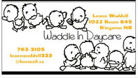 Waddle In Daycare looking to hire