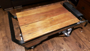 Antique Grain Scale Coffee Table in Good Condition