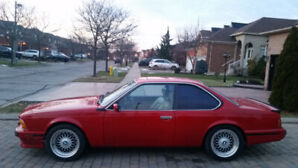 BMW E24  L6   VERY RARE   VERY NICE  N  CLEAN   BIG COUPE