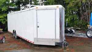 34 continental enclosed trailer