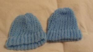 crocheted baby hat for newborn