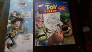 Toy Story Sticker Book and Learn to Draw Toy Story Book New Mint
