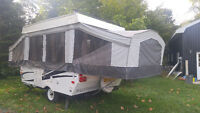 2012 Palomino Y-4100 Pop Up Camp Tent Travel Camper Trailer READ