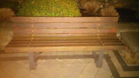 4 well built benches for quick sale