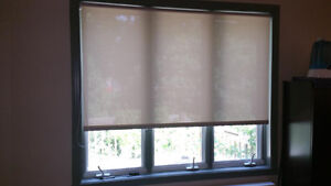 Roller blinds / Stores roulants