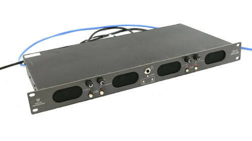 Wohler VMQ-2D AES 4 Ch Digital Audio Monitor, Volume Control, Speakers